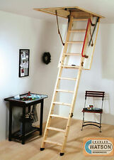 Youngman ECO S Line Timber Folding Loft Ladder Attic Wooden PLUS Insulated Hatch