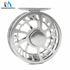 Maxcatch Waterproof 5/6WT Super Light Aluminum Fly Reel Exclusive CNC Machined