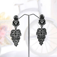 Drop Earirings Retro Vintage Alloy Plated Long Bohemian Pierced Dangle Earrings
