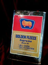 GOLDEN FLEECE MIXING CAN  LABEL Sticker Decal 20CM Service Station Petrol vespa