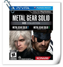 PSV SONY PlayStation VITA METAL GEAR SOLID HD COLLECTION Action Adventure Konami