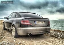 Audi A6 4F C6 04-11 Saloon Sedan Spoiler Look rear RS S Trunk Lip ABT S6 heck