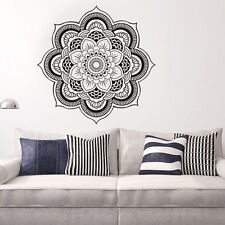 Mandala Flower Indian LivingRoom Wall Decal Art Stickers Mural Home Vinyl Family