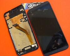 DISPLAY LCD+TOUCH SCREEN per HTC DESIRE 816 +COVER FRAME CORNICE VETRO NERO