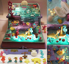 Mini Polly Pocket Ariel Unterwasser Schloss Sparkling Mermaid Adventure Licht
