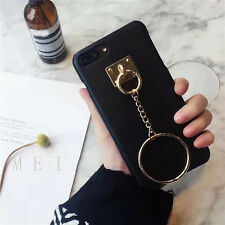 DIY Pendant Vogue Chain Ring Holder Stand Soft Case Cover Decor For Cell Phone