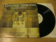 LP Lietuvos Vargonai Orgel The Organ of Lithuania Melodia  Vinyl C 1019019009