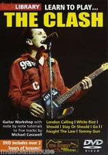 lick Library Learn to Play The Clash Gitarre Lern-DVD