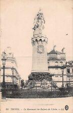 CPA 10 - TROYES - El Monumento de Niños de L' Aude