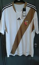 RC Lens Home Shirt 2013/14 Player Issue Short Sleeve Shirt Extra Large XL BNWT