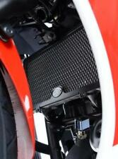 R&G BLACK RADIATOR GUARD for HONDA CBR300R, 2014 to 2016