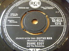 "DUANE EDDY - (DANCE WITH THE) GUITAR MAN       7"" VINYL"