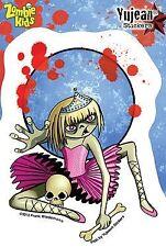 Zombie Kid Vanessa Girl Child Sticker Decal Horror Ballerina Undead Zombies