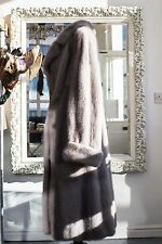 Sapphire Saga Mink Fur Super Plush Princess Swing Coat £10k Measurements Added!