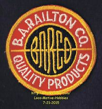 LMH PATCH Badge  B. A. RAILTON Co. Wholesale Foods  BARCO QUALITY PRODUCTS Sysco