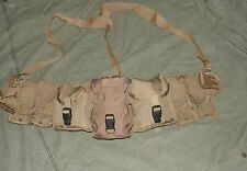 Battle Belt (Medium), Coyote, fully LOADED with IFAK, MOLLE Pouches, Patrol Gear
