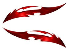 Suzuki GSX R1000 R750 R600 1250 750F 650F Hayabusa Katana red Blade Decal set