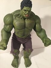 "Hot Toys The Avengers THE HULK 16.5"" Action Figure 1/6 Scale Marvel MMS186"