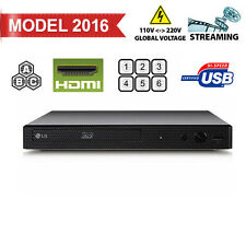 LG BPM55 2D/3D Wi-Fi All Zone Multi Region Free DVD Blu-Ray Disc Player