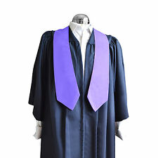 Graduation Honour Stole University Bachelor  Academic Royal Purple Choir Sash