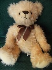 "Traditional Russ berry "" Basil  "" Teddy Bear Soft Toy 16"" approx"