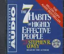 THE 7 HABITS OF HIGHLY EFFECTIVE PEOPLE - NEW CD/SPOKEN WORD AUDIO BOOK