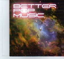 (DF406) Better Pop Music, SIC Sampler 19 tracks various artists - 2010 DJ CD