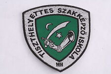 Hungary Hungarian Republic MH Central NCO School Academy Szentendre Patch Badge