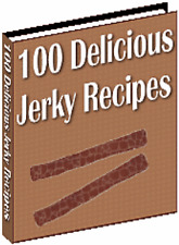 E BOOK SALE - 100 DELICIOUS BEEF JERKY RECIPES ON CD