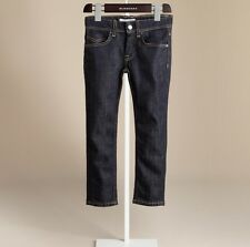 Burberry Children Kids 12Y Kensington Indigo Denim Jeans Pants Girl Gift