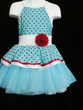 Polka Dot Dress Up Tutu Curtain Call Dance Skate Solo CXSM