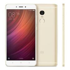 "Xiaomi Redmi Note 4 5.5"" Deca-10 Core  Phone 2GB RAM, 16GB ROM -Golden Helio X20"