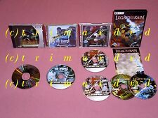 4xpc _ Legacy of Kain Soul nyree & sr.2 & Blood Omen 2 & Legacy of Kain Defiance