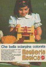 X4327 Maglieria Magica - Che bella sciarpina - Mattel - Pubblicità 1975 - Advert