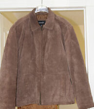 M-BROWN-WINTER Aberdeen collection Mens 100%Genuine LEATHER front ZipperJacket