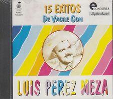 LUIS PEREZ MEZA 15 EXITOS DE VACILE  CD Sealed