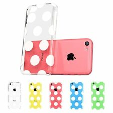 For iPhone 5C Case Beat Geometric pattern Bumper Hard Clear Back Cover
