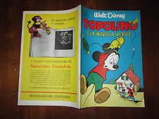 WALT DISNEY ALBO D'ORO N°34 TOPOLINO E LA NUVOLA VERDE 1953