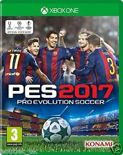 PES 2017 PRO EVO 2017 per XBOX ONE Brand New & Sealed