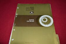 John Deere 3164D OEM Engine & Accssories Dealer's Parts Book Manual PANC
