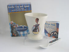 RATATOUILLE SUNDAE CUP & SPOON & RECIPE SHEET ONLY £8.99 FREE P&P