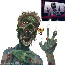 Halloween ROTTEN ZOMBIE Car Window Cling Decoration