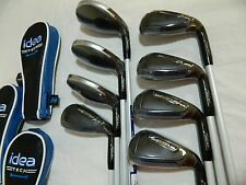 New 2015 Adams IDEA Tech Combo Iron set 3h-PW All Graphite Regular Fubuki Irons