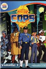 COPS  Vol. 1  Animated Cartoon DVD Set 3 DISCS  -Episodes 1-32 Cookie Jar NEW