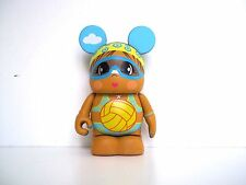 DISNEY 3 VINYLMATION CUTESTERS AT THE BEACH VOLLEYBALL PLAYER GIRL