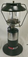 COLEMAN PROPANE  DOUBLE MANTLE LANTERN 5151A700 WITH PLASTIC CASE AND LIGHTER