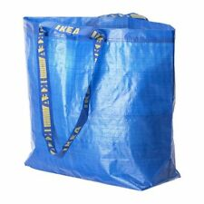 STORAGE BAG W/HANDLE MEDIUM SHOPPING RECYCLE/REUSABLE! IKEA! NEW! FREE SHIP!