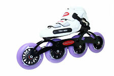 Inline Speed Skate by Trurev. 105mm or 110mm skate wheels, ceramic bearings
