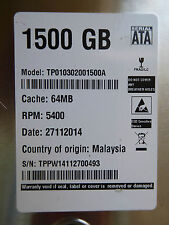 1,5TB TP010302001500A from Western Digital | 27.11.2014 | 2060-771824-003 REV A