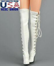 1/6 Women Over The Knee High Heel Boots For Phicen Hot Toys Kumik U.S.A. SELLER